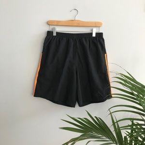 Black Adidas Climalite Football Shorts